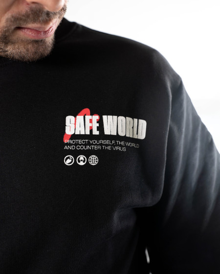 Crewneck Safe World