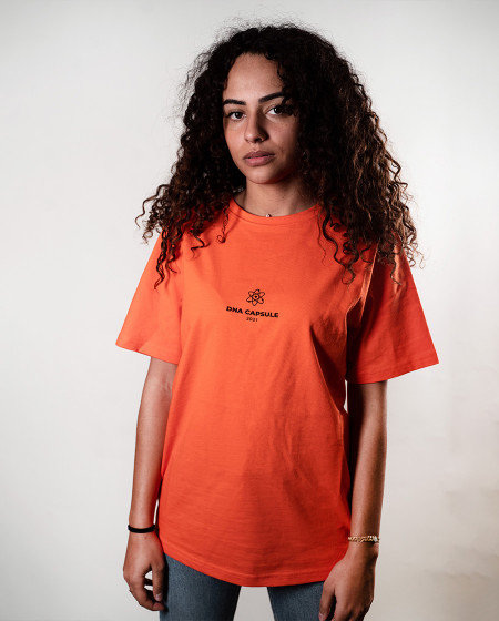 Chromosomes T-shirt Orange