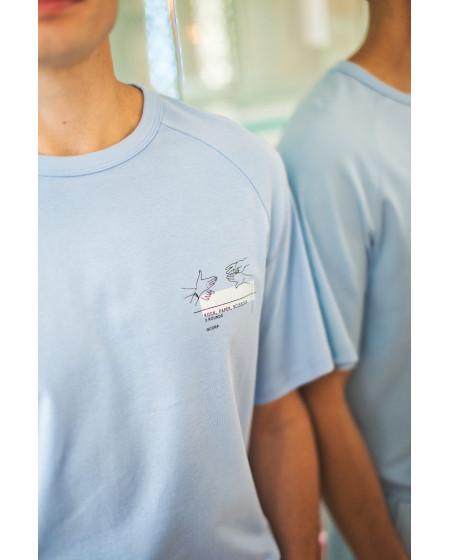 T-shirt Summer Blue