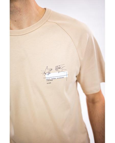 T-shirt Summer Creme